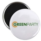 Green Party Logo (sunflower) Magnet