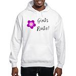 Girls Rule Hooded Sweatshirt