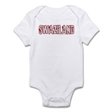 SWAZILAND (distressed) Infant Bodysuit