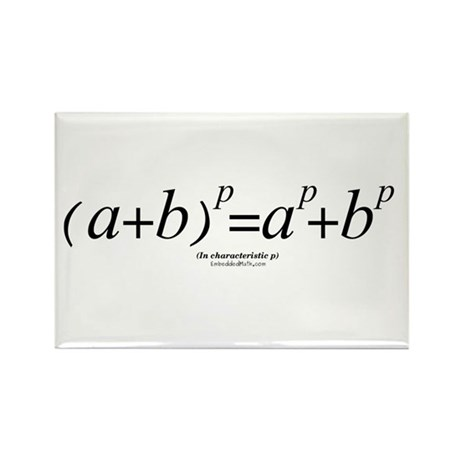 Binomial Law - Rectangle Magnet (100 pack)