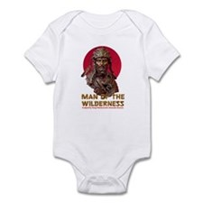 MAN OF THE WILDERNESS Infant Bodysuit