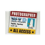 WTD: Credentials Rectangle Magnet (10 pack)