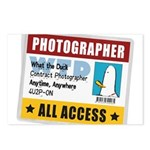 WTD: Credentials Postcards (Package of 8)