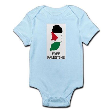 Free Palestine Infant Creeper