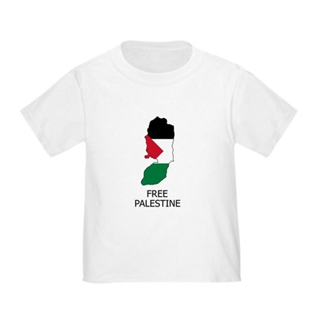 Free Palestine Toddler T-Shirt