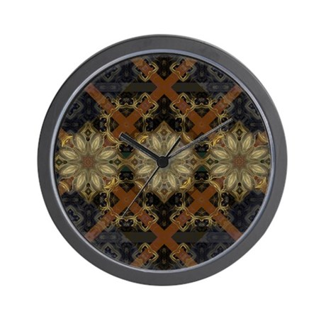 Floral Mystique Wall Clock