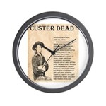 General Custer Wall Clock