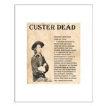 General Custer Small Poster
