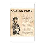 General Custer Mini Poster Print