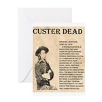 General Custer Greeting Card