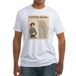 General Custer Fitted T-Shirt