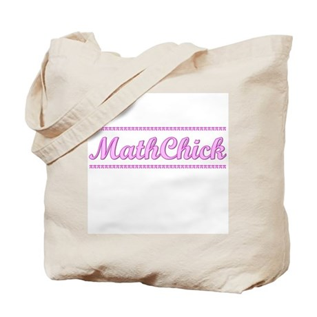 MathChick Tote Bag
