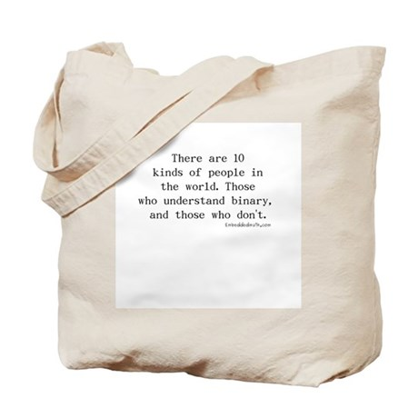 Binary Joke - Tote Bag