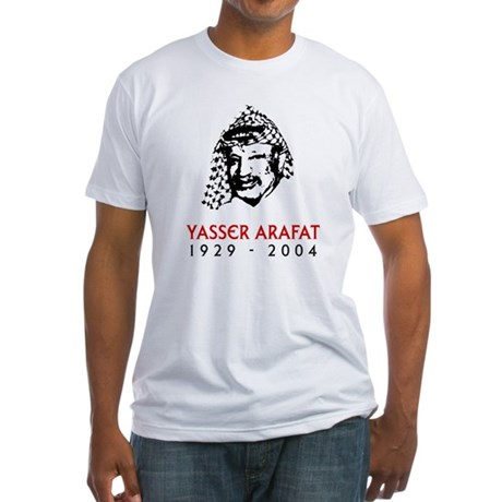 Yasser Arafat Fitted T-Shirt