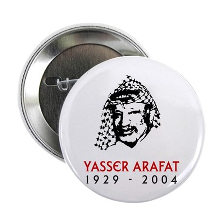 Yasser Arafat Button