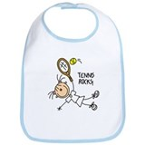 Tennis Rocks! Bib