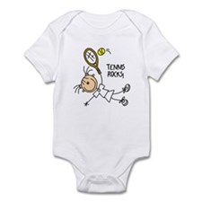 Tennis Rocks! Infant Bodysuit
