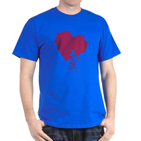 Lots of hearts Dark T-Shirt