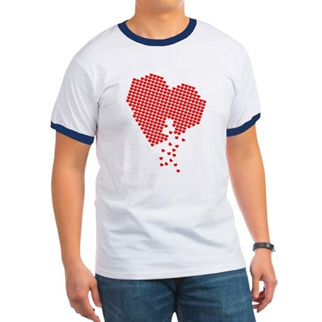 Lots of hearts Ringer T