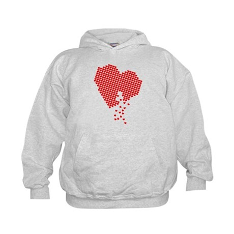 Lots of hearts Kids Hoodie