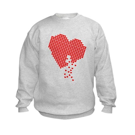 Lots of hearts Kids Sweatshirt