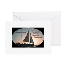 Cool Bvi sailing Greeting Card