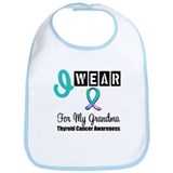 Thyroid Cancer Ribbon Bib