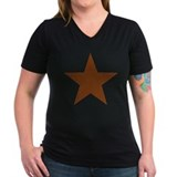 Distressed Red Star Shirt
