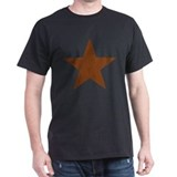 Distressed Red Star T-Shirt