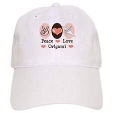 Peace Love Origami Crane Cap