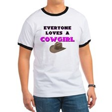 EVERYONE LOVES A COWGIRL T