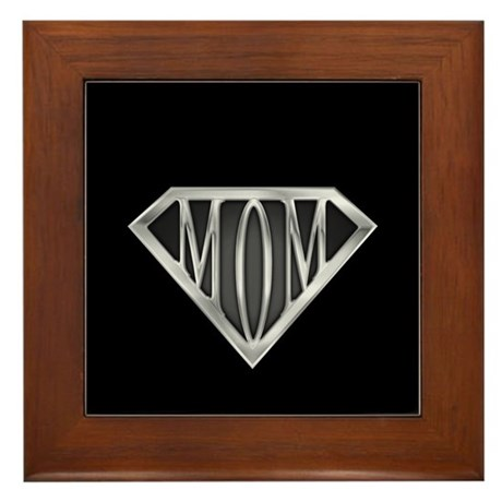 Supermom(metal) Framed Tile