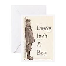 Every Inch a Boy Greeting Card