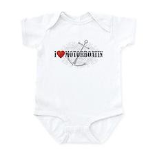 I Love Motorboatin Infant Bodysuit