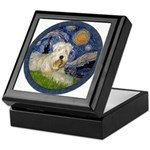 Starry / Wheaten (#1W) Keepsake Box