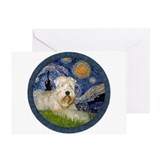 Starry / Wheaten (#1W) Greeting Card