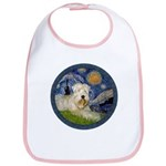 Starry / Wheaten (#1W) Bib