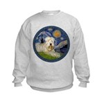 Starry / Wheaten (#1W) Kids Sweatshirt