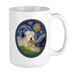 Starry / Wheaten (#1W) Large Mug