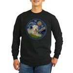 Starry / Wheaten (#1W) Long Sleeve Dark T-Shirt