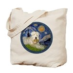 Starry / Wheaten (#1W) Tote Bag