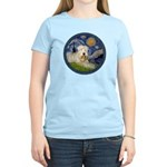 Starry / Wheaten (#1W) Women's Light T-Shirt