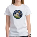 Starry / Wheaten (#1W) Women's T-Shirt