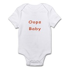 Oops Baby Infant Bodysuit