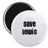 Save Lewis 2.25&quot; Magnet (10 pack)