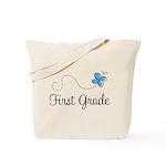 Pretty First Grade Tote Bag
