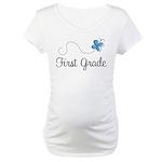 Pretty First Grade Maternity T-Shirt