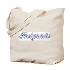 Belgrade (blue) Tote Bag