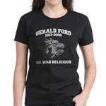 gerald ford eaten by wolves Women's Dark T-Shirt