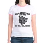 gerald ford eaten by wolves Jr. Ringer T-Shirt